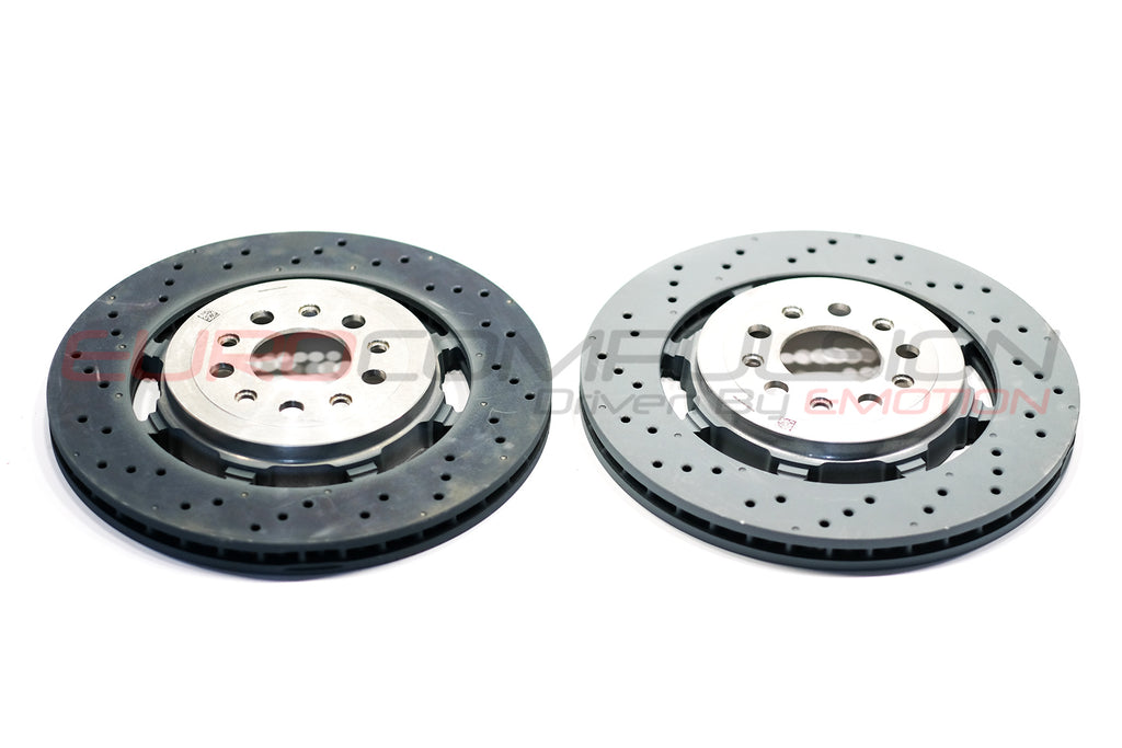 GENUINE ALFA ROMEO GIULIA/STELVIO QUADRIFOGLIO 2.9L REAR BRAKE ROTORS