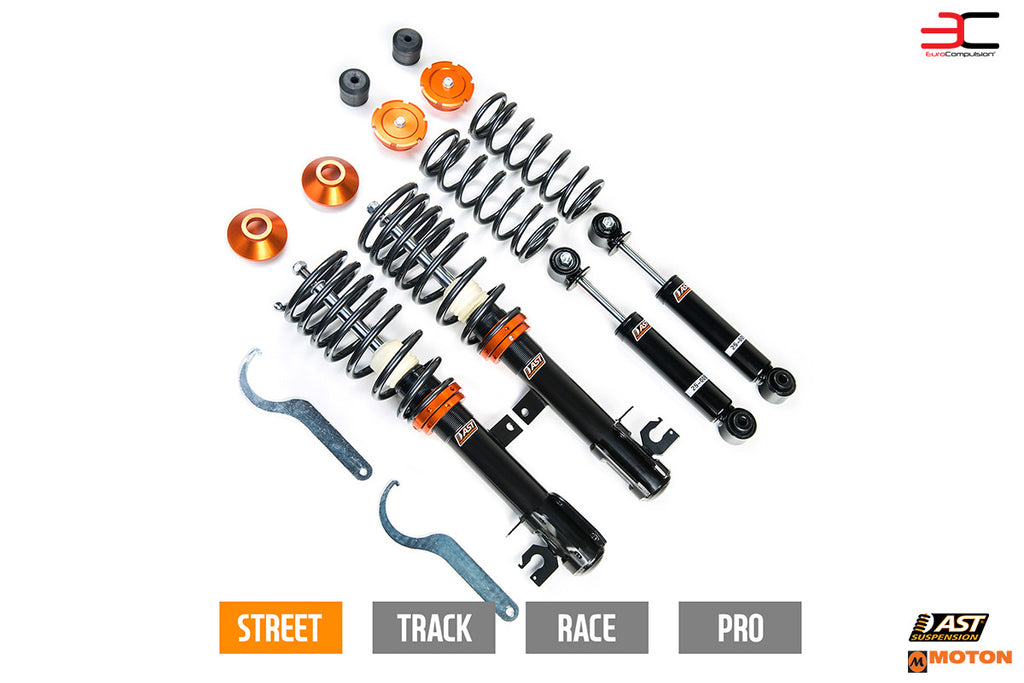 AST SUSPENSION 2000 SERIES COIL-OVER KIT (FIAT 500 ABARTH/FIAT 500T/FIAT 500) - EUROCOMPULSION