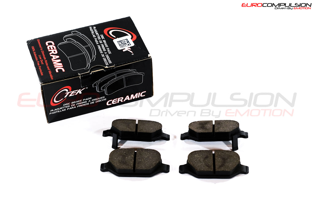 CENTRIC REAR BRAKE PADS (ABARTH/FIAT 500T) - EUROCOMPULSION