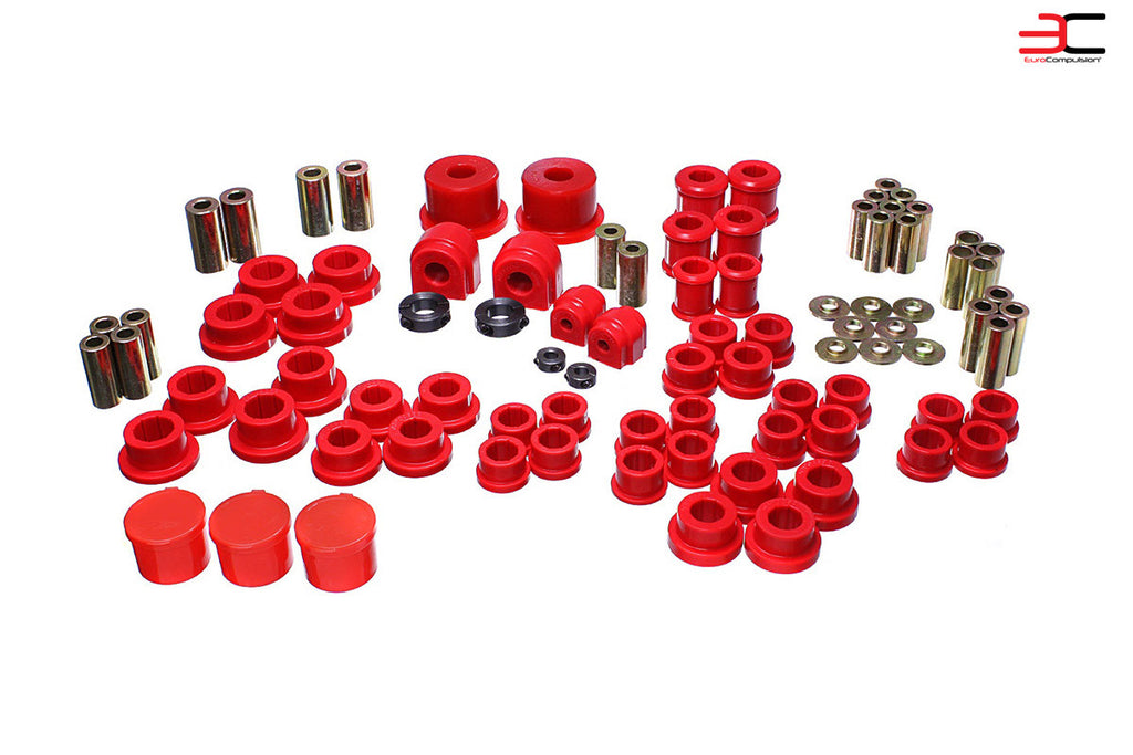 ENERGY SUSPENSION COMPLETE BUSHING SET (FIAT 124 SPIDER/ABARTH) - EUROCOMPULSION