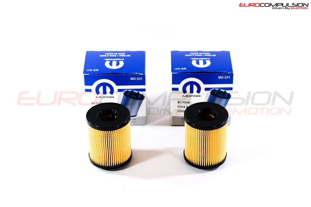 GENUINE FIAT OIL FILTERS (2 FILTERS) - EUROCOMPULSION