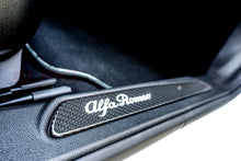 Load image into Gallery viewer, GENUINE ALFA ROMEO CARBON FIBER LIGHTED DOOR SILL (ALFA ROMEO GIULIA) - EUROCOMPULSION