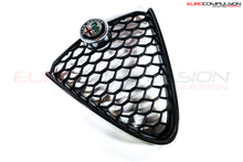 Load image into Gallery viewer, GENUINE ALFA ROMEO CARBON FIBER CENTER GRILL (ALFA ROMEO GIULIA 2.0 Ti) - EUROCOMPULSION