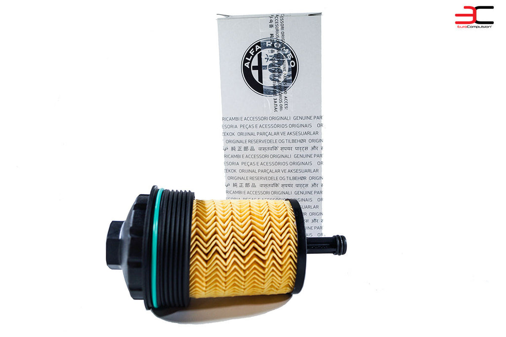 GENUINE ALFA ROMEO OIL FILTERS (2) (ALFA ROMEO GIULIA 2.9L) - EUROCOMPULSION