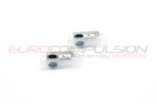 GENUINE ALFA ROMEO PUDDLE LIGHTS AR LOGO (ALFA ROMEO GIULIA)