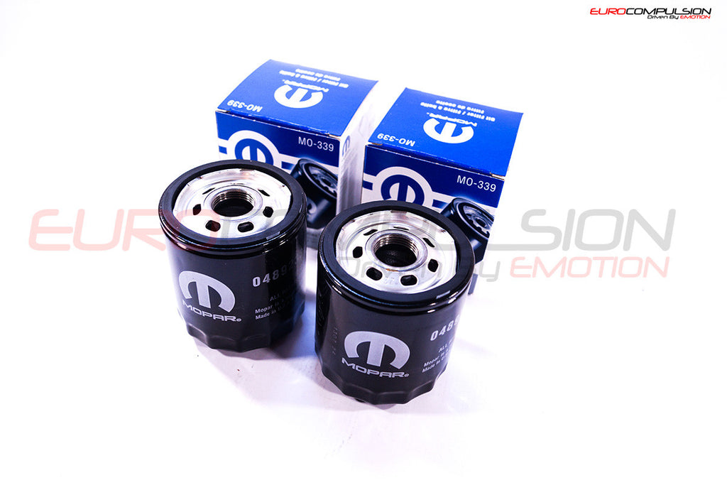GENUINE ALFA ROMEO OIL FILTER (2) (ALFA ROMEO GIULIA 2.0L) - EUROCOMPULSION