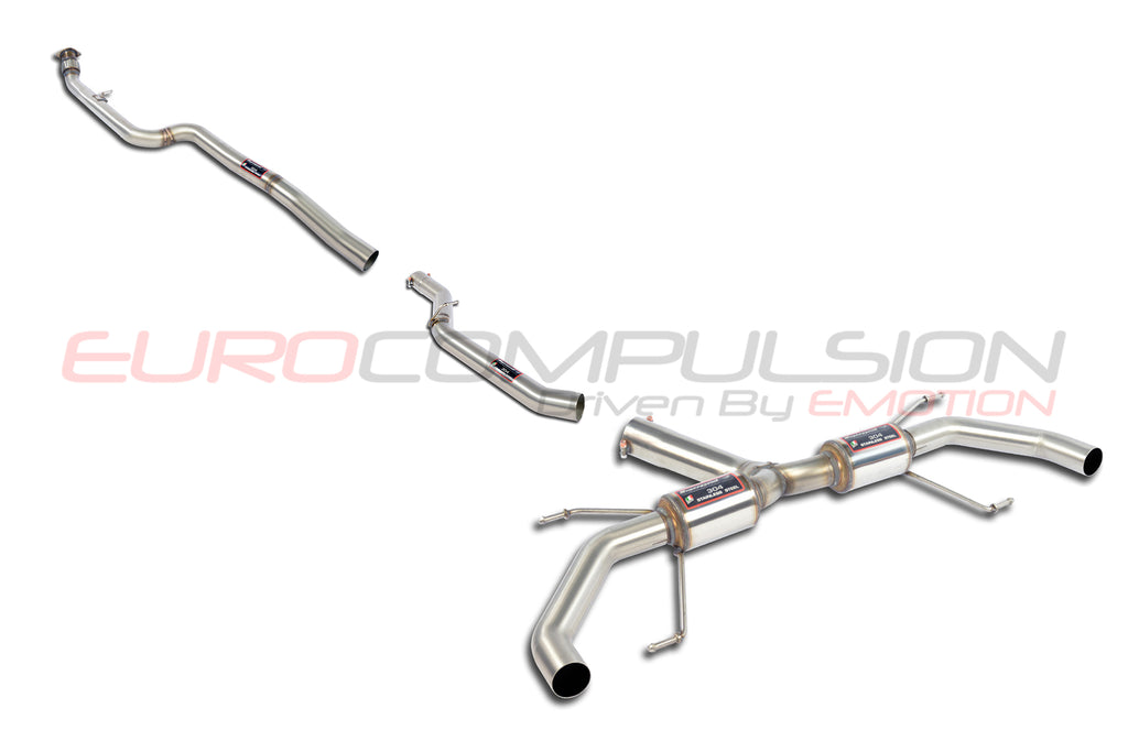 "SUPERSPRINT ""RACE"" CAT-BACK EXHAUST SYSTEM (ALFA ROMEO GIULIA 2.0L)"