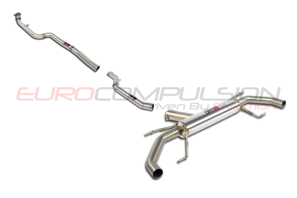 "SUPERSPRINT ""STREET"" CAT-BACK EXHAUST SYSTEM (ALFA ROMEO GIULIA 2.0L)"