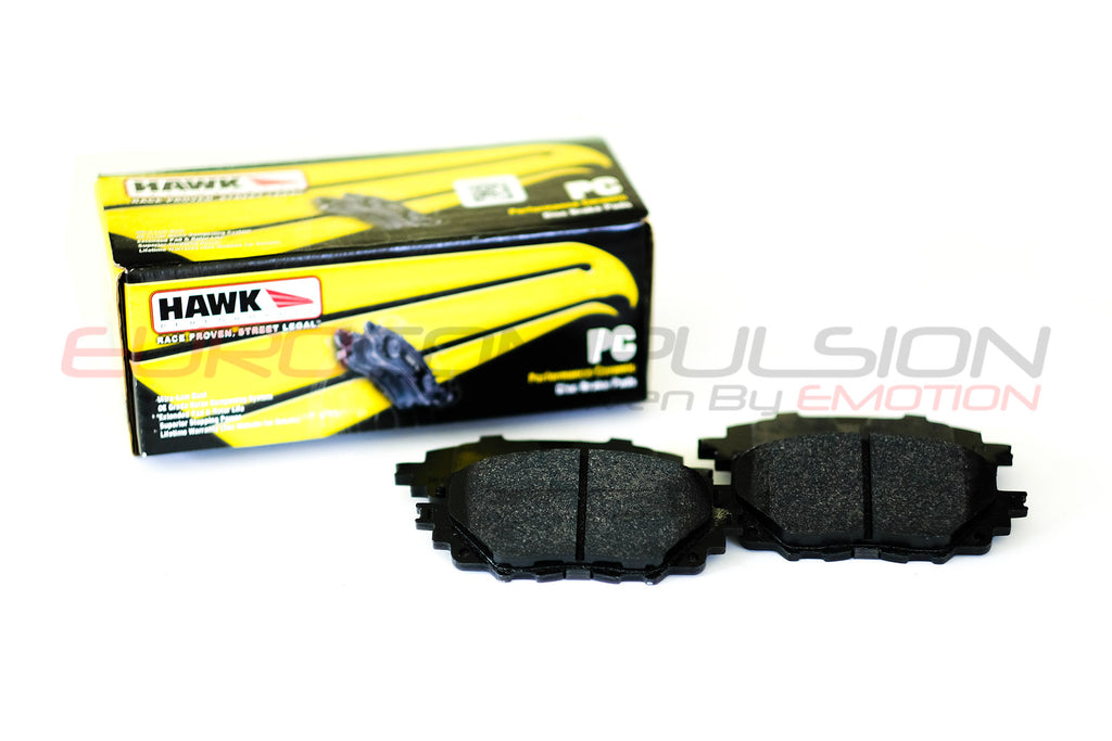 HAWK PERFORMANCE CERAMIC FRONT BRAKE PADS (FIAT 124 SPIDER/ABARTH)