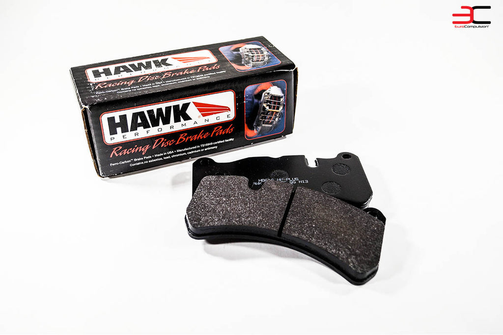 HAWK HIGH PERFORMANCE (HP+) FRONT BRAKE PADS (MASERATI GRANTURISMO) - EUROCOMPULSION