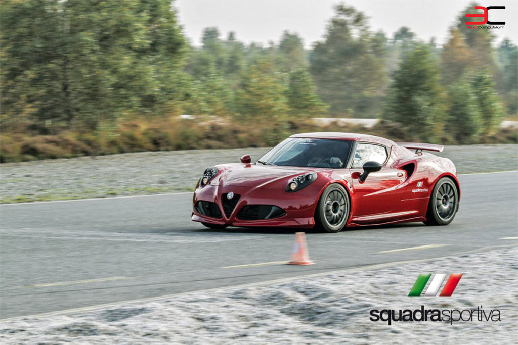 NOVITEC CORSE+ BLACK PERFORMANCE COIL-OVER SYSTEM (ALFA ROMEO 4C) - EUROCOMPULSION