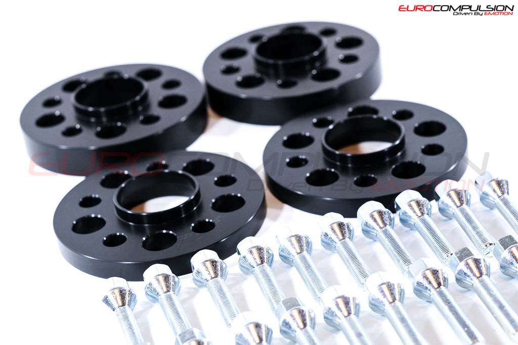 OTIS LA BLACK WHEEL SPACER KIT 15MM/25MM (ALFA 4C) - EUROCOMPULSION