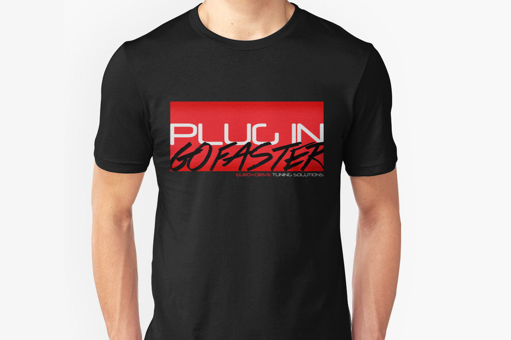 "EUROCOMPULSION ""PLUG IN. GO FASTER."" T-SHIRT - EUROCOMPULSION"