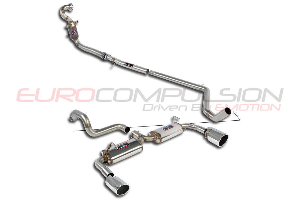 SUPERSPRINT STREET PERFORMANCE PACK EXHAUST SYSTEM (FIAT 500 ABARTH)