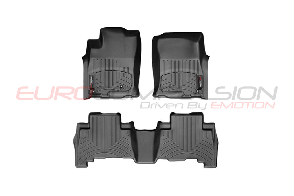 WEATHER-TECH FLOOR MAT SET (ALFA ROMEO STELVIO) - EUROCOMPULSION