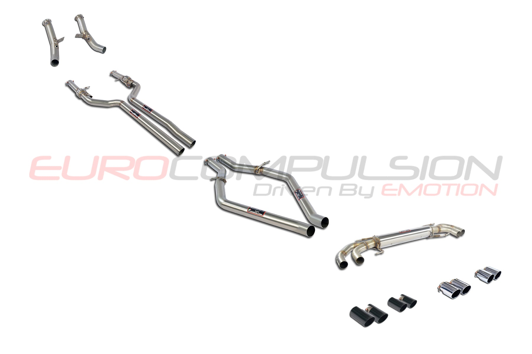 supersprint  u0026quot race u0026quot  full exhaust system  alfa romeo giulia quadrifoglio  u2013 eurocompulsion