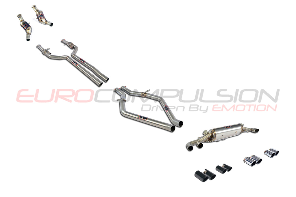 "SUPERSPRINT ""STREET"" FULL EXHAUST SYSTEM (ALFA ROMEO GIULIA QUADRIFOGLIO 2.9L)"