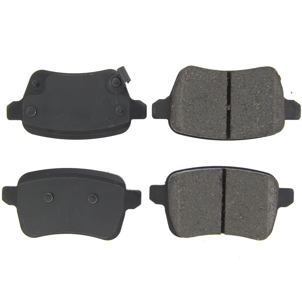 CENTRIC/STOPTECH POSI-QUIET FIAT 500L CERAMIC BRAKE PADS - EUROCOMPULSION
