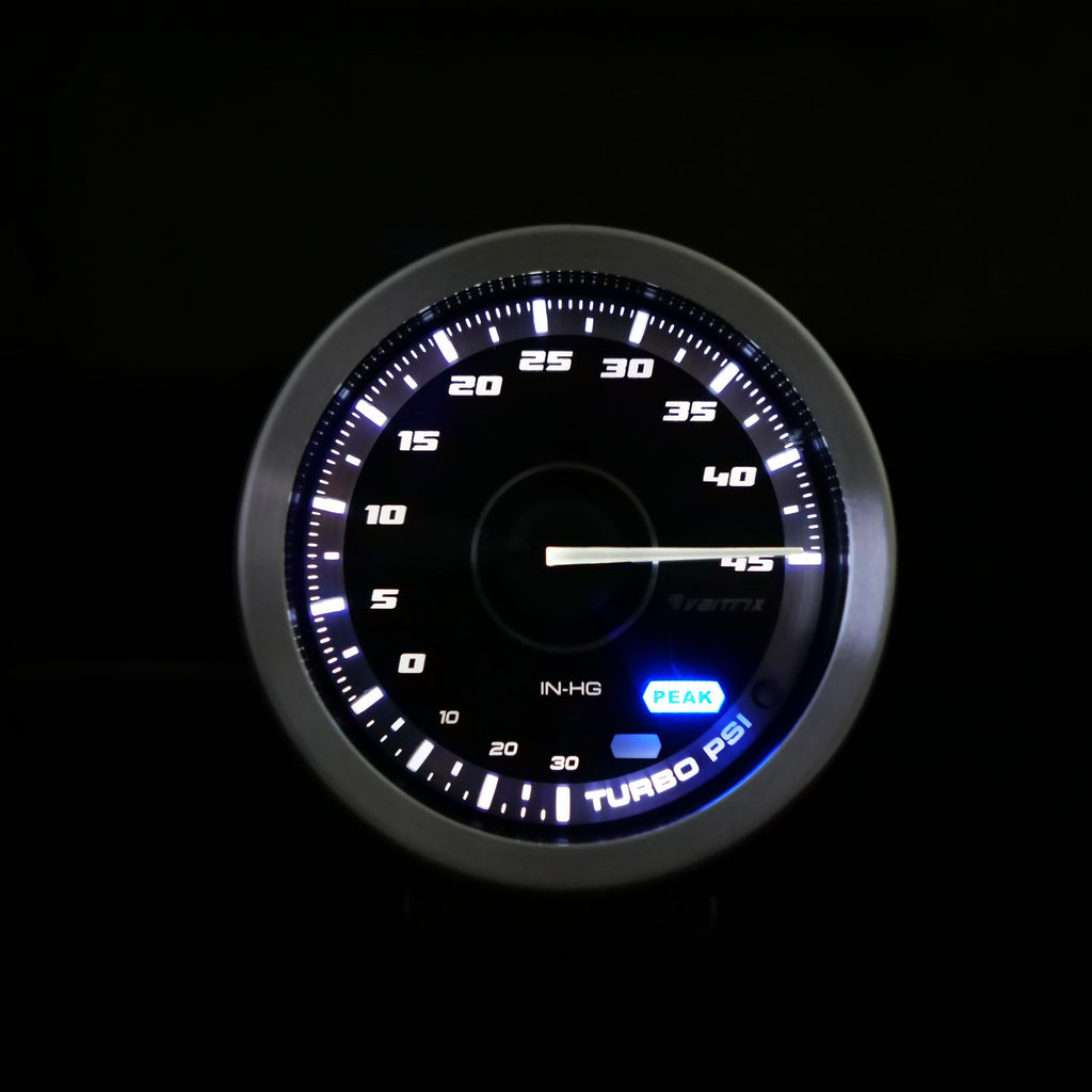VAITRIX BOOST GAUGE - 45PSI NON PLUG-&-PLAY (FIAT 500 ABARTH/FIAT 500T)