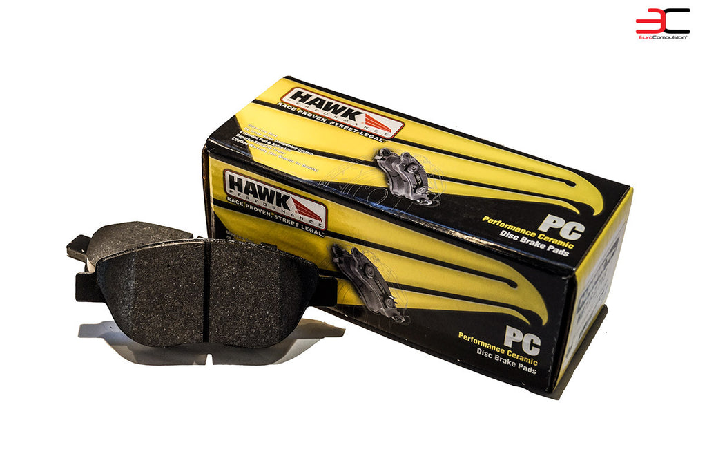 HAWK PERFORMANCE CERAMIC BRAKE PADS ABARTH/500T - EUROCOMPULSION