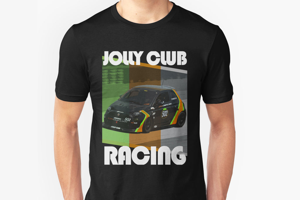 "EUROCOMPULSION JOLLY CLUB ""RACING"" T-SHIRT - SSDESIGNS EDITION - EUROCOMPULSION"