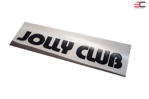 EUROCOMPULSION JOLLY CLUB TEXT DECAL
