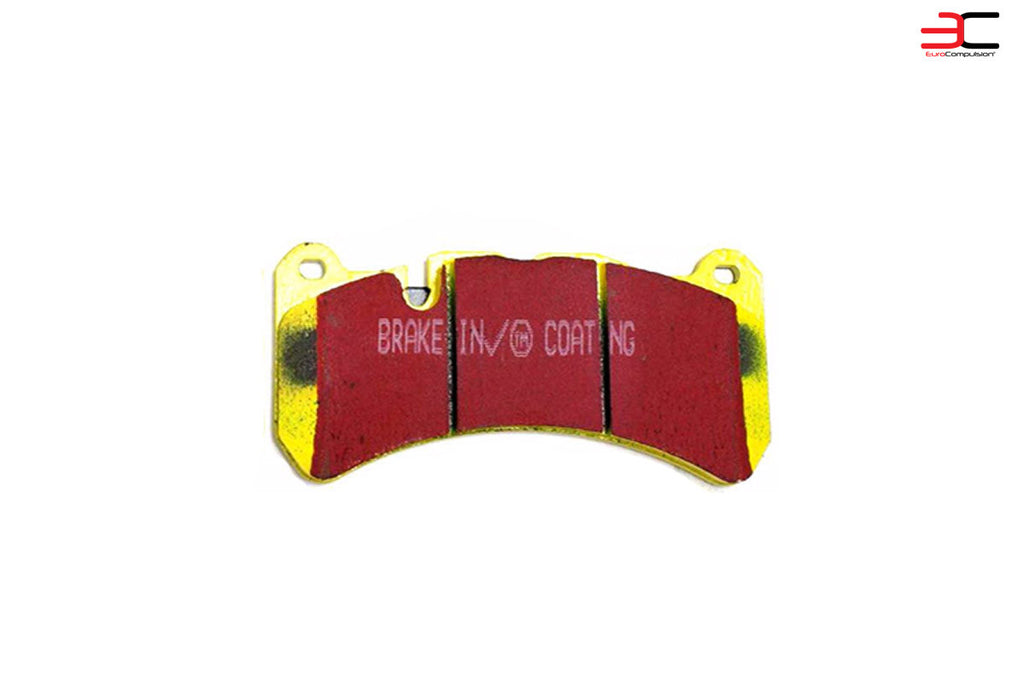 EBC YELLOW STUFF FRONT BRAKE PADS (MASERATI GRANTURISMO) - EUROCOMPULSION