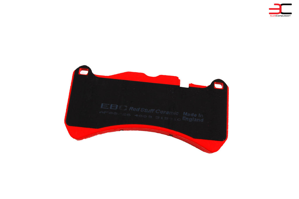 EBC RED STUFF FRONT BRAKE PADS (MASERATI GRANTURISMO) - EUROCOMPULSION