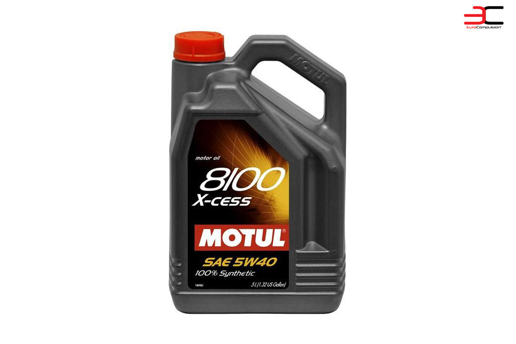 MOTUL 5W-40 SYNTHETIC ENGINE OIL - EUROCOMPULSION