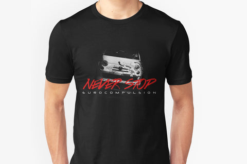 "EUROCOMPULSION ""NEVER STOP"" (ABARTH) T-SHIRT"