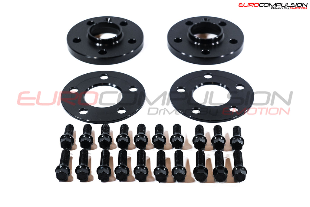 OTIS LA BLACK WHEEL SPACER KIT 5MM/17MM (ALFA ROMEO GIULIA 2.0L) - EUROCOMPULSION