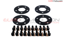 Load image into Gallery viewer, OTIS LA BLACK WHEEL SPACER KIT 5MM/5MM (ALFA ROMEO GIULIA 2.9L) - EUROCOMPULSION