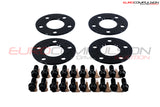 OTIS LA BLACK WHEEL SPACER KIT 5MM/5MM (ALFA ROMEO GIULIA 2.9L)