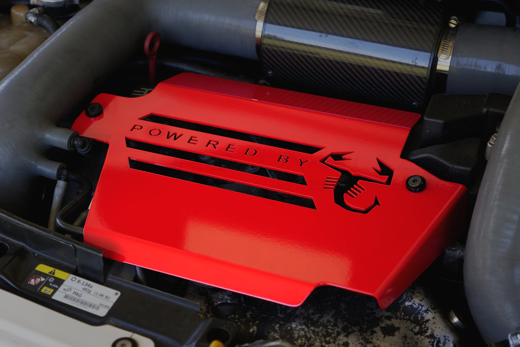 EUROCOMPULSION ALUMINUM ENGINE COVER (FIAT 500 ABARTH / FIAT 500T)