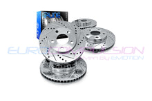 Load image into Gallery viewer, R1 CONCEPTS XDRILLED/SLOTTED BRAKE ROTOR SETS