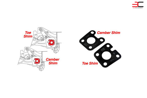SPC TOE & CAMBER KIT (24 SHIMS TOTAL)