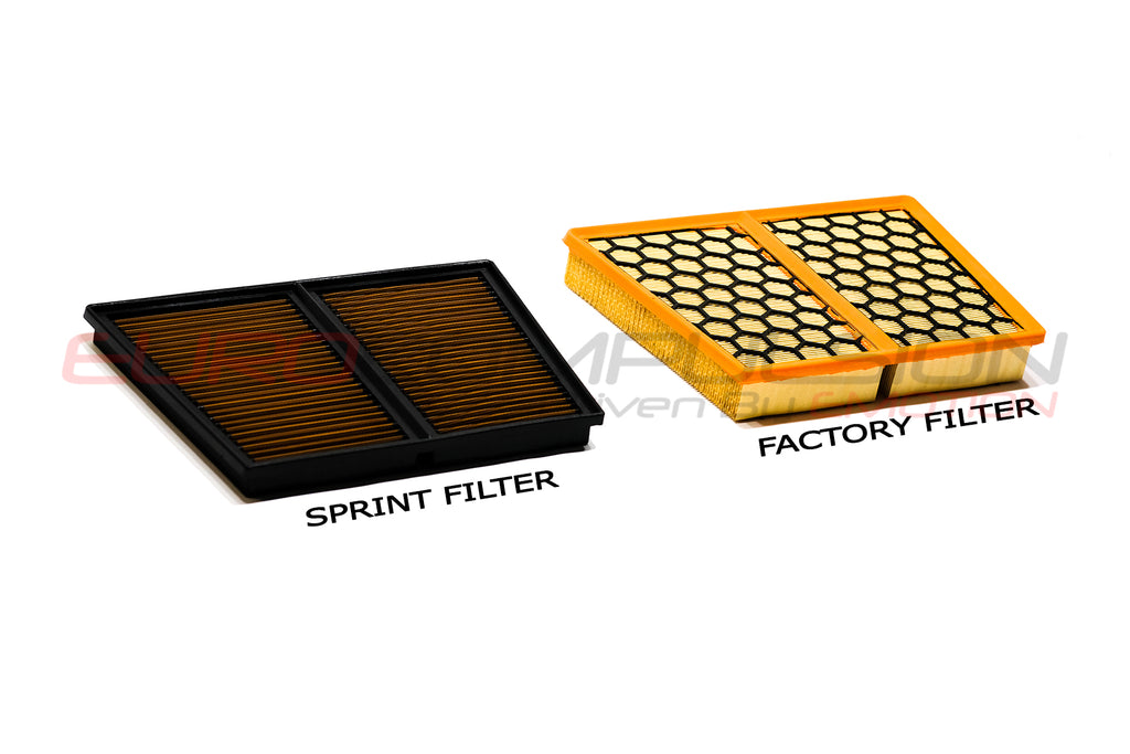 SPRINT REPLACEMENT AIR FILTER (ALFA ROMEO STELVIO 2.9L QUADRIFOGLIO) - EUROCOMPULSION