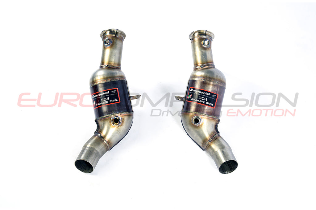 SUPERSPRINT 200CPSI HIGH-FLOW CATALYTIC CONVERTERS (ALFA ROMEO GIULIA QUADRIFOGLIO 2.9L)