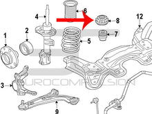 Load image into Gallery viewer, GENUINE FIAT STRUT MOUNT (ABARTH/FIAT 500/FIAT 500T) - EUROCOMPULSION