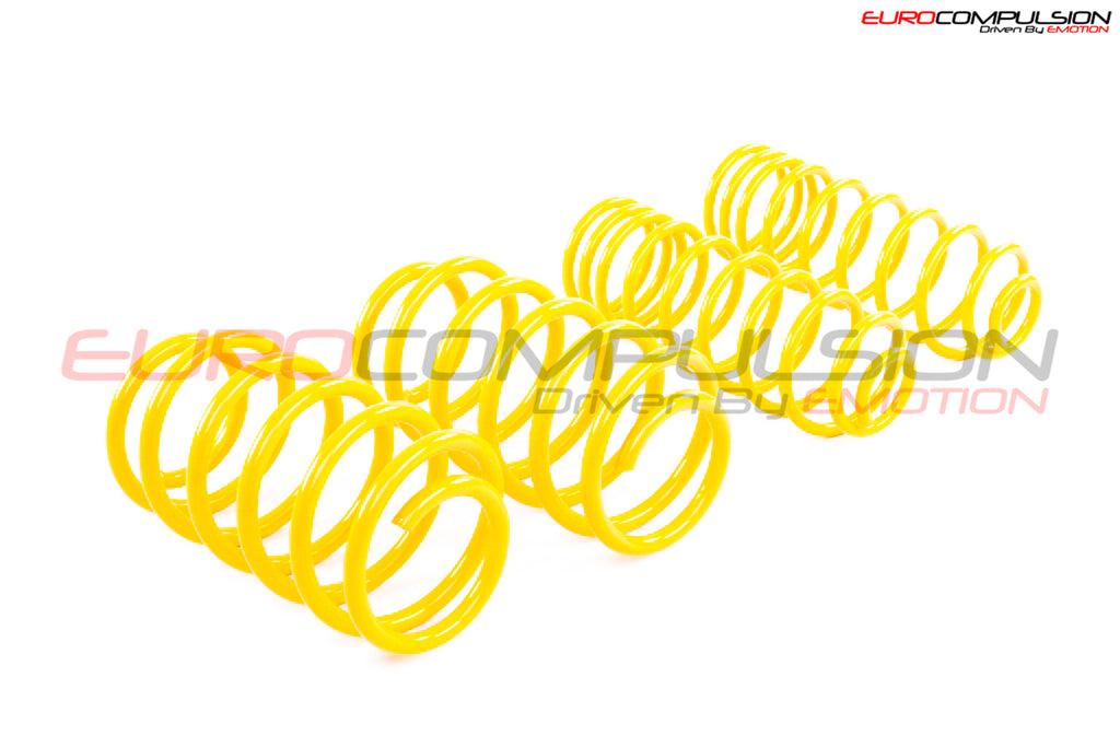 SUSPENSION TECHNIQUES LOWERING SPRINGS (ALFA ROMEO GIULIA 2.9L) - EUROCOMPULSION