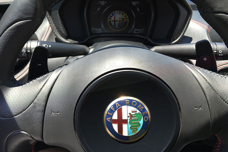 CENTERLINE ALFA ROMEO 4C PERFORMANCE PADDLE SHIFTER SET - EUROCOMPULSION