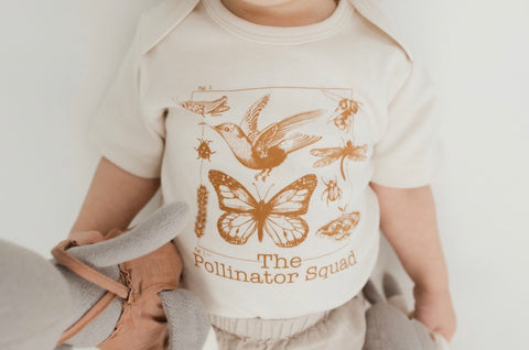 The Pollinator Squad Onesie