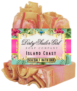 Island Coast Sea Salt Bath Bar