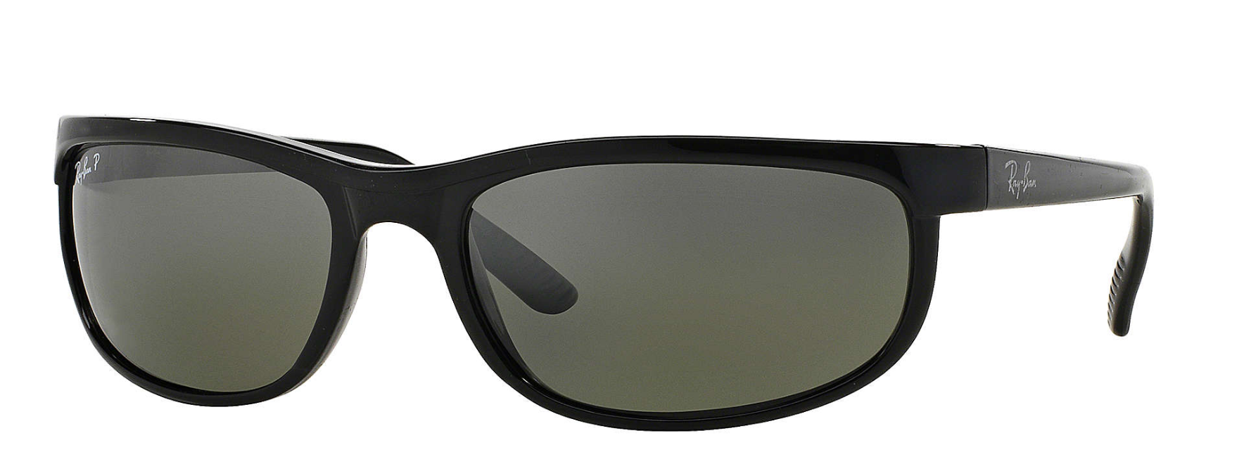 Predator 2 Black, Grey Mirror Polarized 62mm