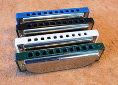 Custom Blue Moon Harmonicas