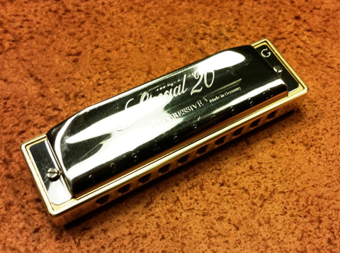 Built to Order Double Reed Plate Special 20 with Brass Comb