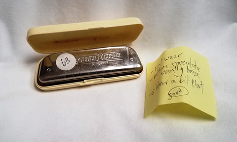 Sonny Terry Estate Harmonica - Golden Melody Item #63  Key of Bb