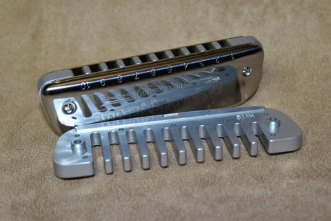 Golden Melody Anodized Aluminum Comb