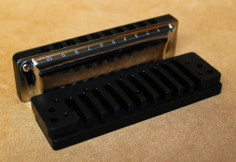 Built to Order Double Reed Plate Manji with Anodized Aluminum Comb