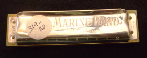 Sonny Terry Estate Harmonica - Marine Band # 319-20
